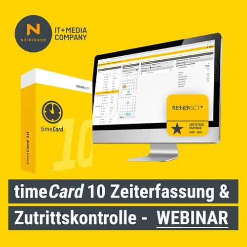 timecard 10 Zeiterfassung Webinar