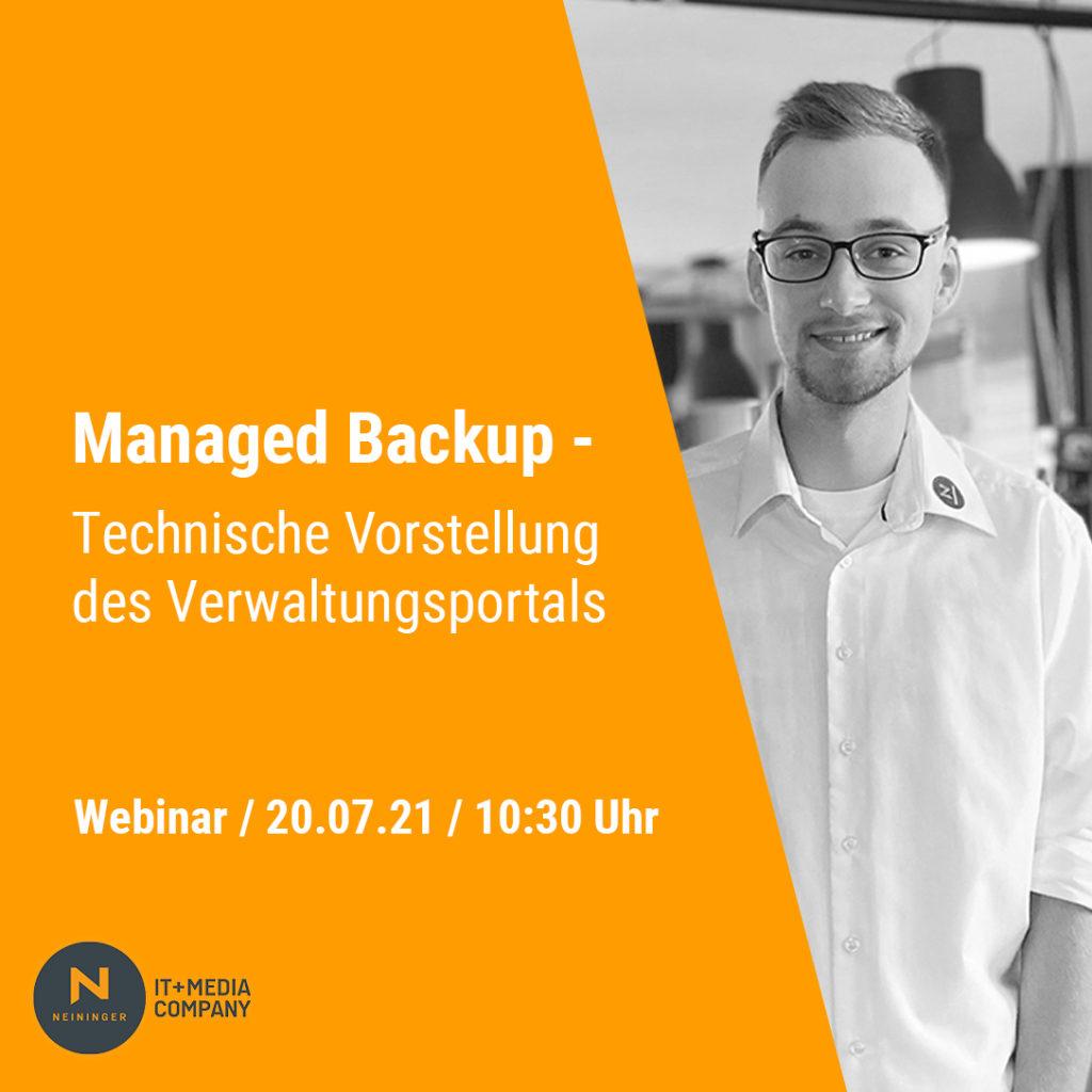 Managed Backup Webinar